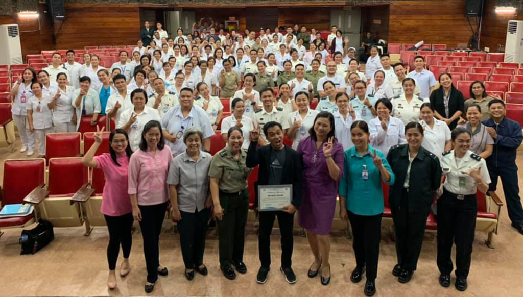 armed forces of the philippines nurses leadership speaker philippines